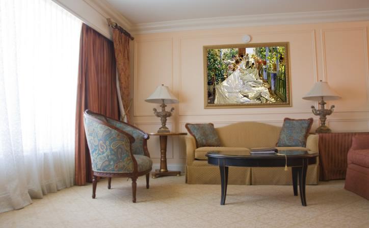 Cuadros de sorolla pinturas del impresionismo espa ol leos - Cuadros en salones ...