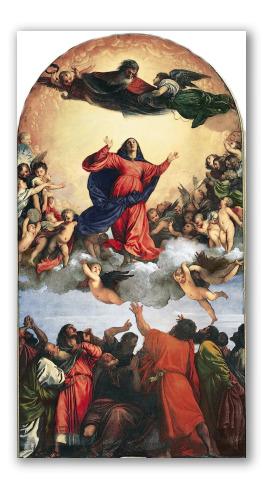 """Obra """"La Asunción de la Virgen"""""""
