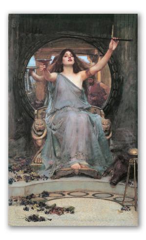 Circe Ofreciendo la Copa a Odiseo
