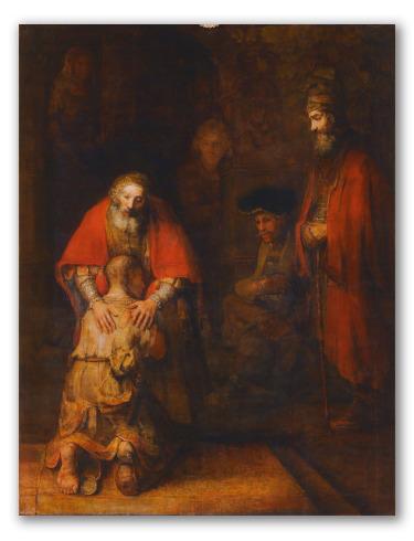 """""""El Retorno del Hijo Pródigo"""" de Rembrandt"""
