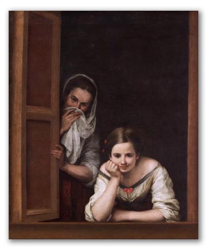 """Cuadro """"Mujeres en la ventana"""""""
