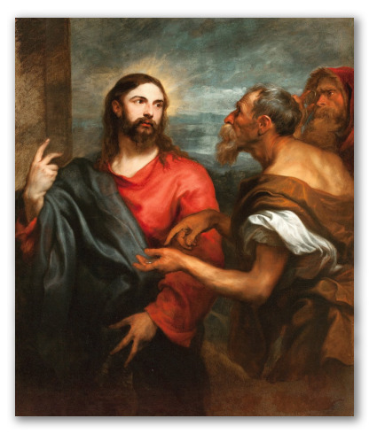 """Cristo de la Moneda"" de Anton Van Dyck"