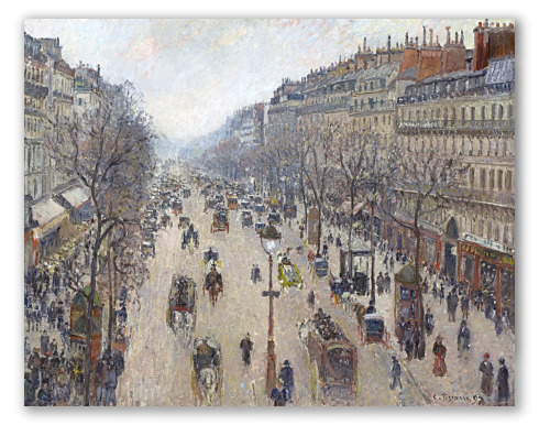 Boulevard Montmartre, Invierno
