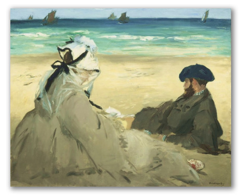 En la Playa, Manet