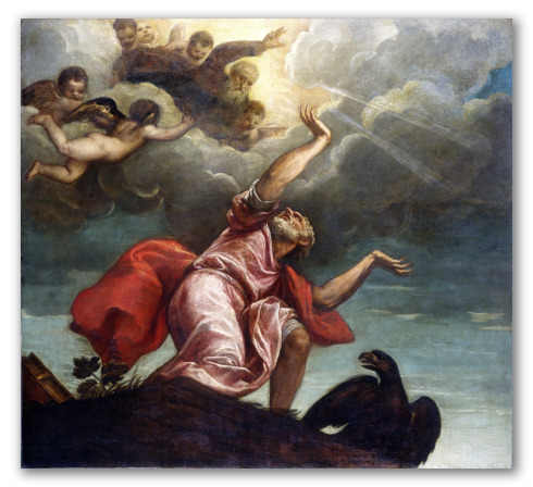 "Obra ""San Juan Evangelista en Patmos"""