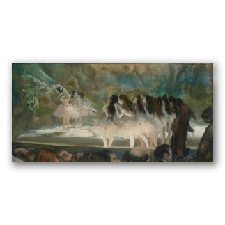 """Ballet de la Ópera de París"" de Degas"
