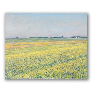 La llanura de Gennevilliers, campos amarillos