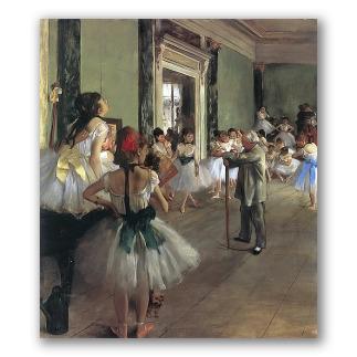 La clase de danza (en Museo de Orsay)