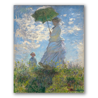 El Paseo - Mujer con sombrilla