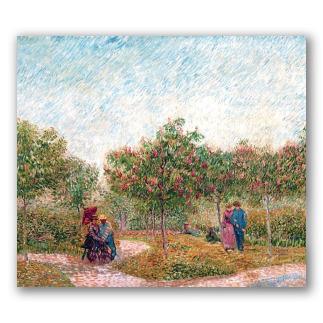 Jardín de Montmartre - Van Gogh
