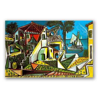 Paisaje Mediterráneo - Picasso